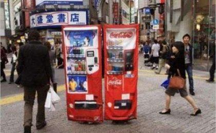 In pericolo? Vestiti da distributore di Cocacola!
