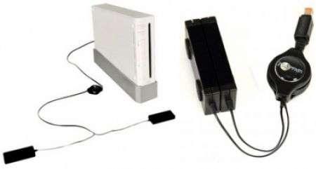 Wii: barra sensore pieghevole e retrattile portatile