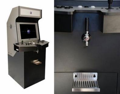 Gamerator: postazione Arcade con dispenser di bevande!