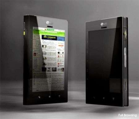 Lg Touch Phone concept