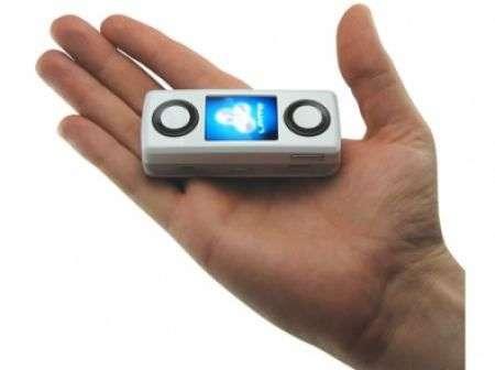 Mini Boombox GSM: cellularino