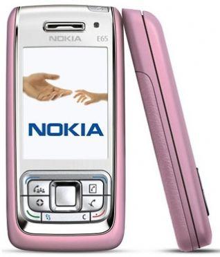 Nokia E65 Pink