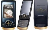Samsung U600 Black Gold