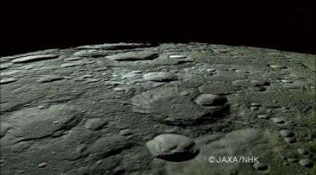 Luna in video HD Alta Definizione