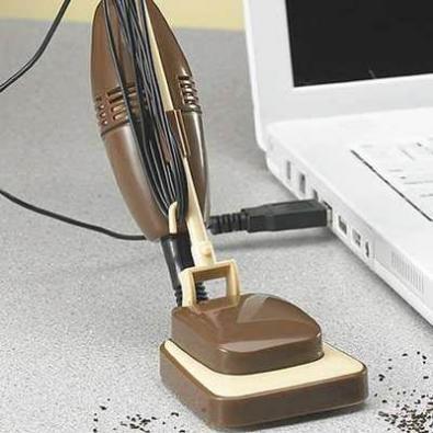 Aspirapolvere USB retrò