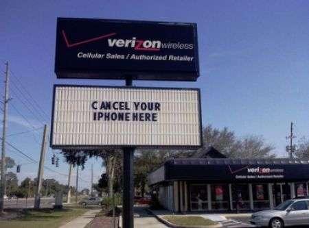 Verizon e LG contro iPhone