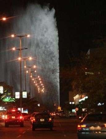 King Fahd: la più potente e alta fontana al mondo