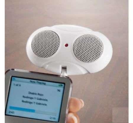Audio Bug Speaker: alieno per iPod