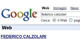 Federico Calzolari. Chi è il più cercato su Google a Novembre?