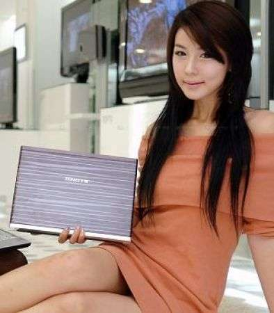 LG XNOTE P330: retroilluminato a LED