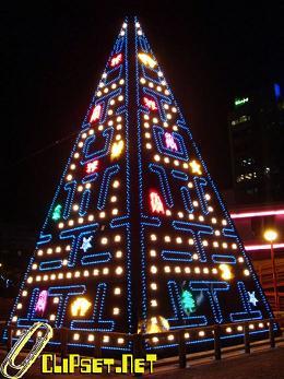 Albero di Natale Pac Man!