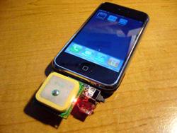 PartFoundry: modulo GPS per iPhone, vero!