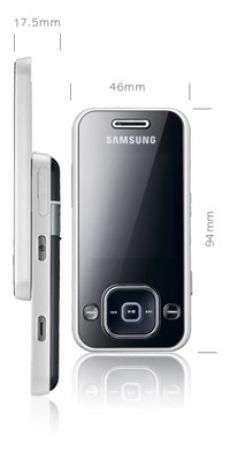 Samsung F250: scheda tecnica
