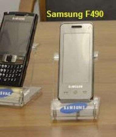 Samsung F490: keyboardless e 5 megapixel