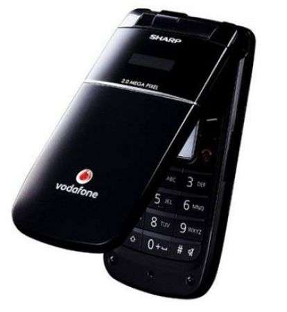 Sharp GX34: clamshell per Vodafone