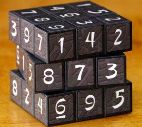 Sudokube: Sudoku + cubo di Rubik