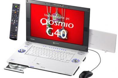 Toshiba Qosmio G40 con HD DVD RW