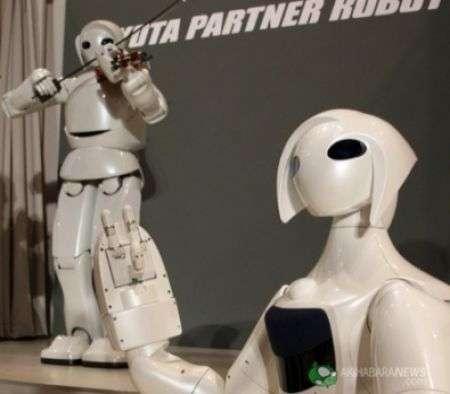 Robot Violinista