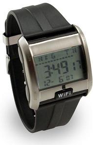 Orologio con Wifi Detector