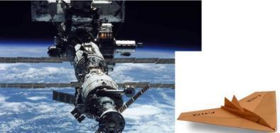 Aereo di Carta sarà lanciato dalla Stazione Spaziale Internazionale alla Terra!