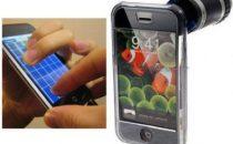 Chitarra e zoom ottico per iPhone