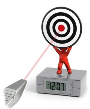 Laser Tag Alarm Clock: sveglia da cecchino