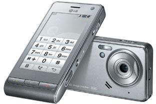 LG Viewty U990 Argento (Dark Silver)