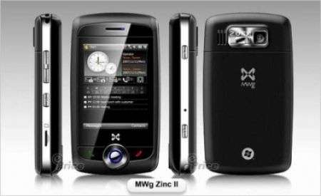 MWg Zinc II: scheda tecnica