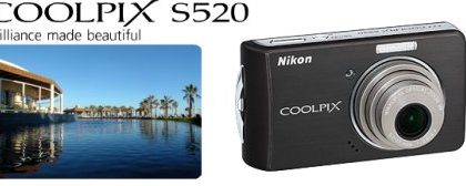 Nikon Coolpix S520 da 8 megapixel