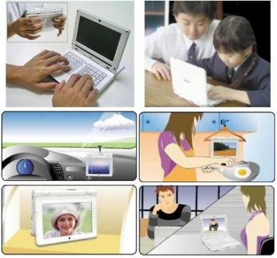 E-Lead Electronic Noahpad UMPC: piccolo e versatile