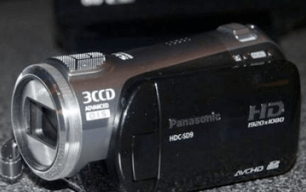 Panasonic HDC-H59 e HDC SD9