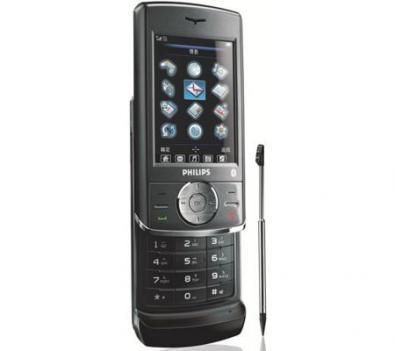 Philips 692-A: touchscreen e slider