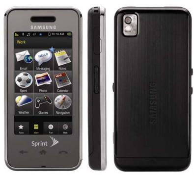 Samsung SPH-M800 con Sprint
