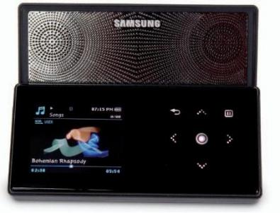 Samsung YP-S5 nuovo lettore MP3