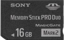 Sony 16GB Memory Stick PRO Duo