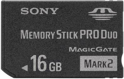 Sony 16GB Memory Stick PRO Duo