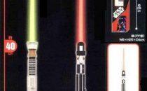 Star Wars Light Saber Room Light: lampada spada laser!