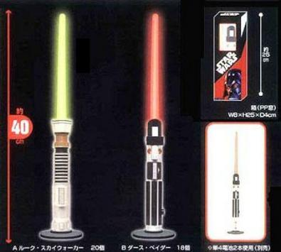 Star Wars Light Saber Room Light: lampada spada laser!