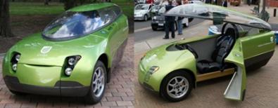 Trev: auto tandem elettrica