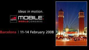 World Mobile Congress 3GSM 2008 i Cellulari