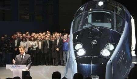 Treno AGV successore di TGV