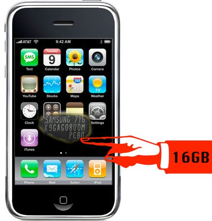 iPhone 16GB e iPod Touch 32GB