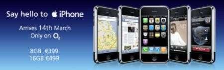 iPhone in Irlanda con O2