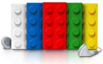 MP3 e Docking Station in (simil) LEGO