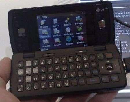LG KT610, la nostra prova al GSMA 2008