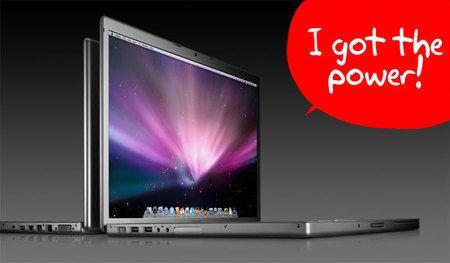 Macbook Pro con Intel Core 2 Duo e Multitouch Pad