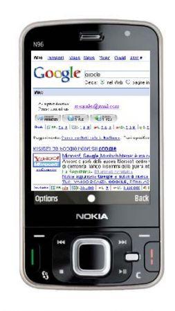 Google Search sui nuovi Nokia