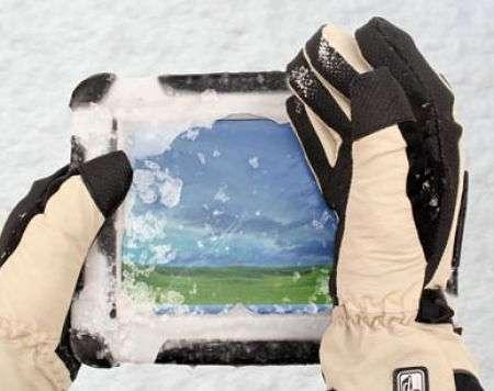Roper Duros, non lo ferma nemmeno la neve