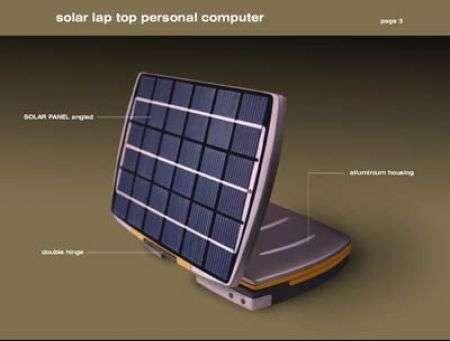 Solar Laptop: un concept ecologico