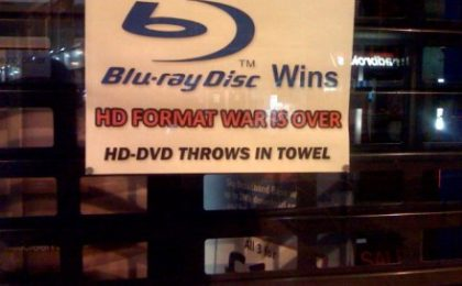 Sony celebra la vittoria dei Blu Ray